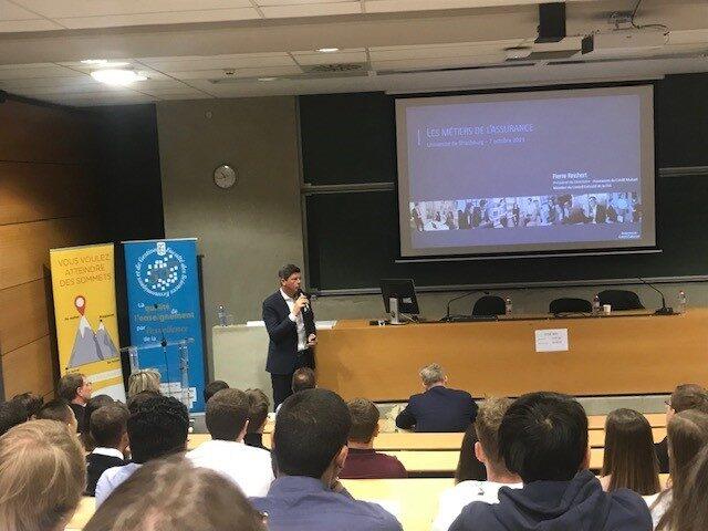 Revivez les meilleurs moments de la conférence du 7 octobre à l'Université de Strasbourg !