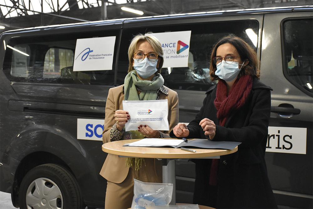 Mobilisation des assureurs aux côtés du Samusocial de Paris : 75 000 kits Prévention Covid distribués aux plus démunis
